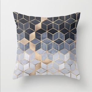 "2 18"" x 18"" throw pillows"